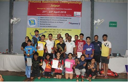 YoGems Badminton Championship Jaipur