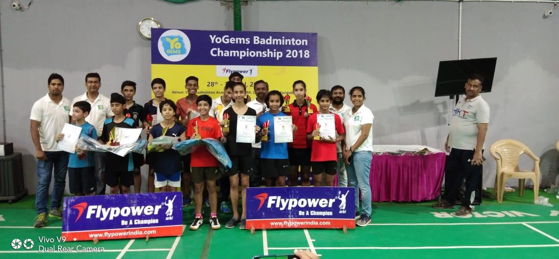 YoGems Badminton Championship 2018