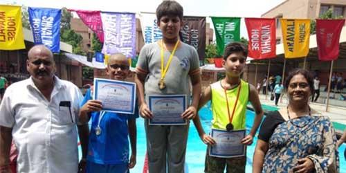 Roma Deb Inter School Swimming Competition