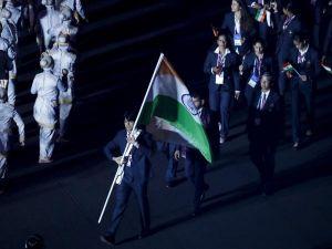 Neeraj Chopra flag