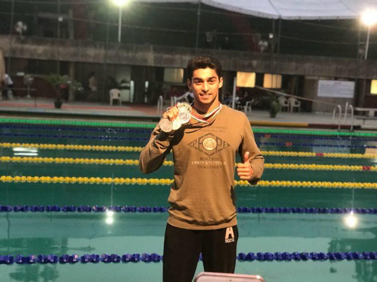 Uttar Pradesh's State Swimming Competition