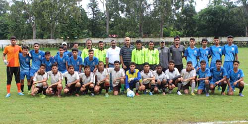 YoGems Inter School U17 Dehradun Football Championship