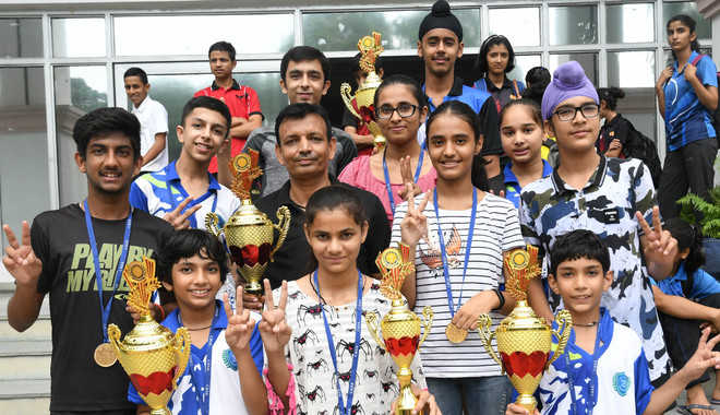 CBSE Cluster Table Tennis Championship