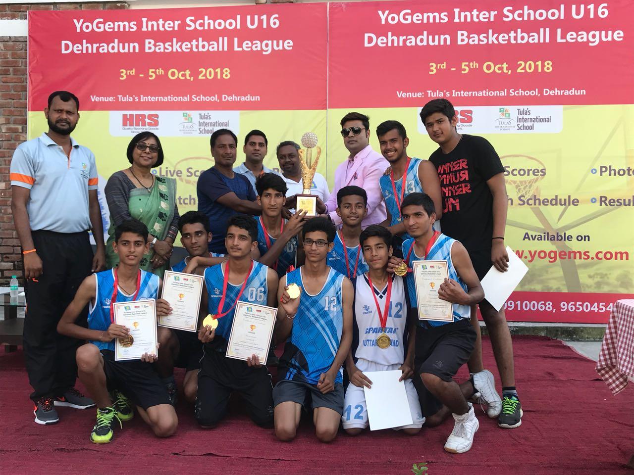 Dehradun Football Winning team