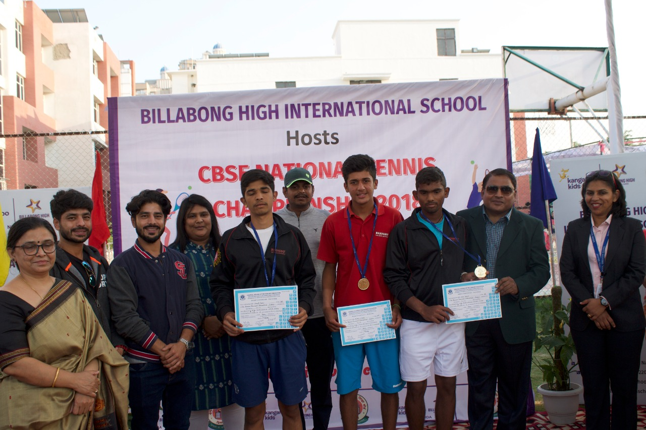CBSE National Tennis Competition 2018
