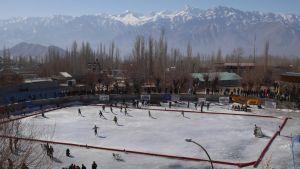 ice skatin
