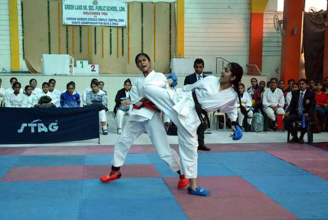 Ludhiana Sahodaya Schools Complex Karate Championship