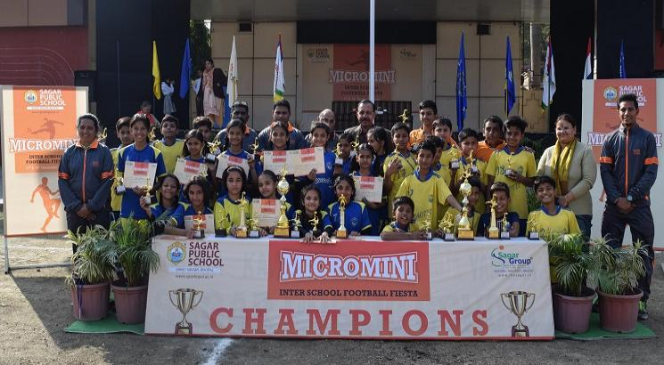 Micro Mini Inter School Football Fiesta 2018