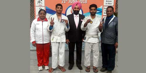 National-level Judo Competition