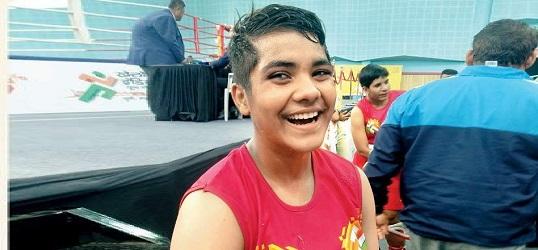 Khelo India Youth Game-Boxing