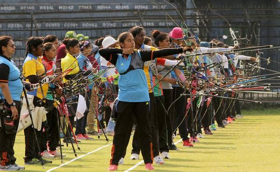 X National archery championships