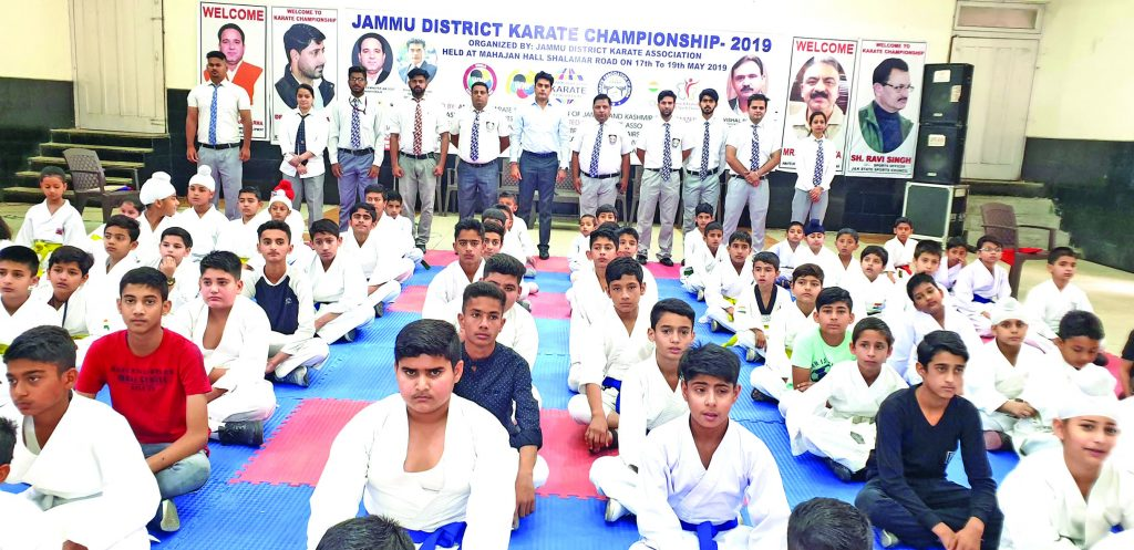 District Jammu Karate Championship 2019