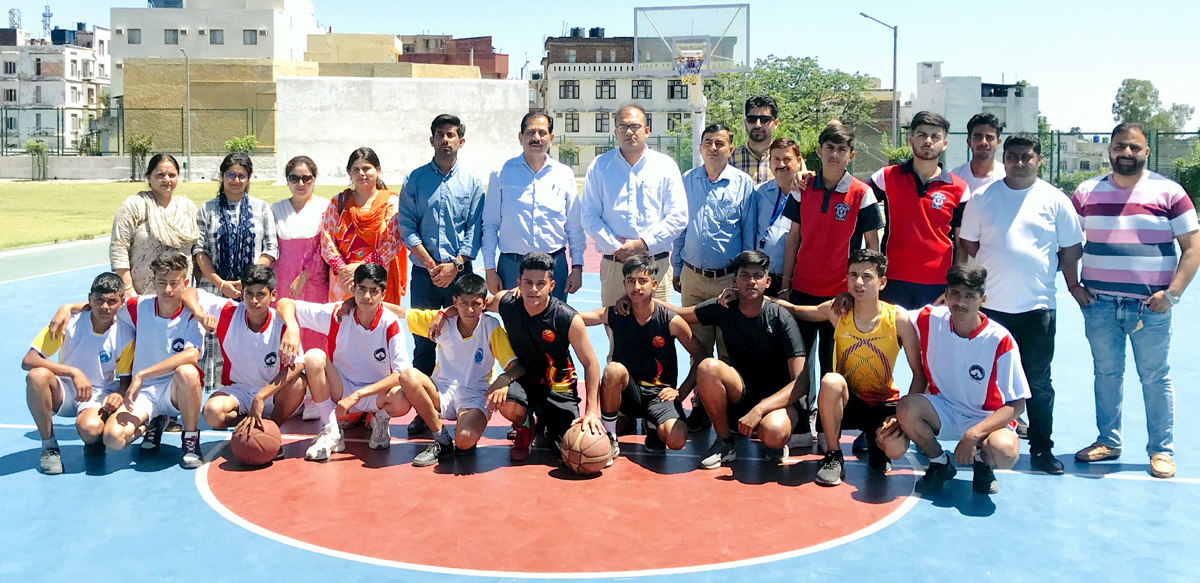 District level Inter School tournament