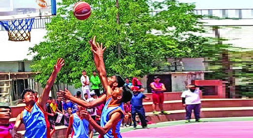 District level inter-school Basketball tournament