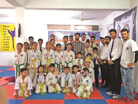 First-Interclub-Taekwondo-competition-held