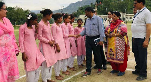 Inter-Zonal Competitions of District Reasi