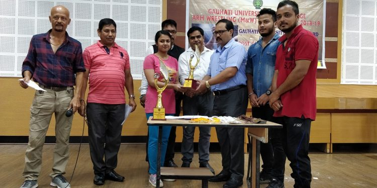 Inter college arm wrestling championship