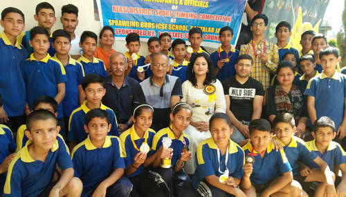Reasi District Sport Climbing Championship