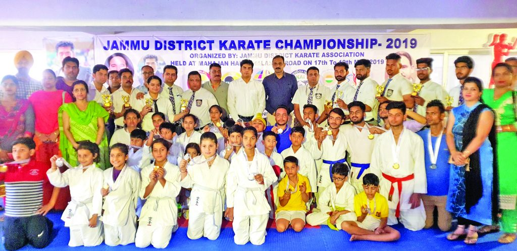 Three days Karate Championship