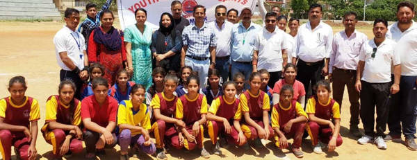 Inter-zone sports meet