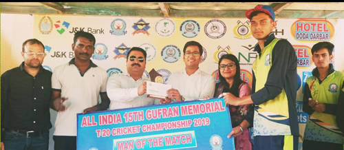 All India 15th Gufran Memorial T20 Cricket Championship