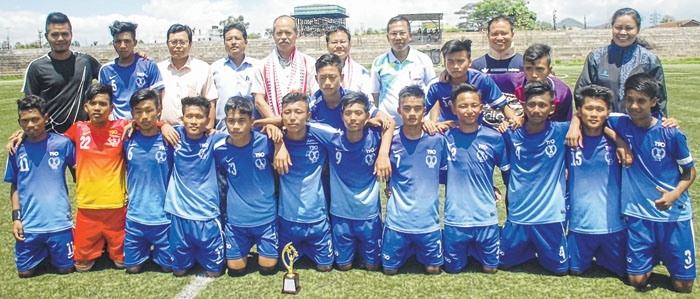 District Level Inter School Subroto Mukerjee Football Tournament 2019