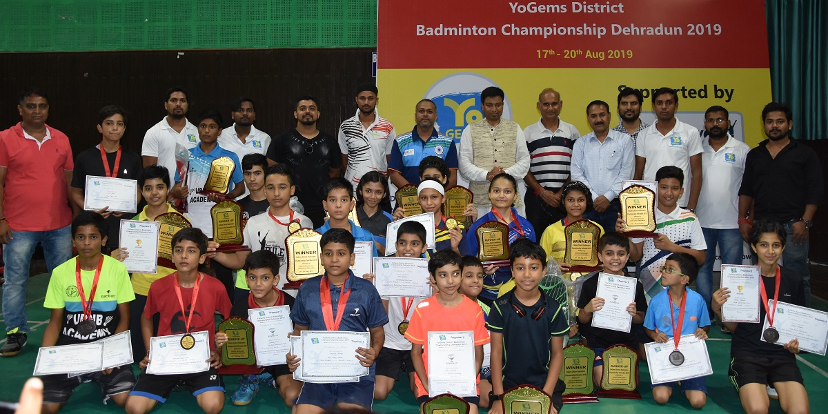 YoGems District Badminton Championship Dehradun 2019