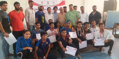 District Jammu Weightlifting Championship