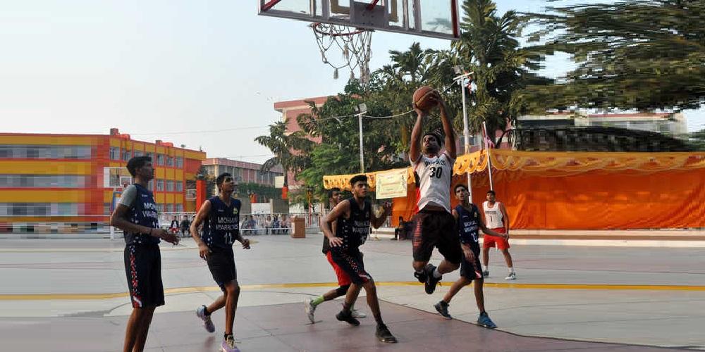CBSE Cluster XVII Basketball (U-17) Tournament