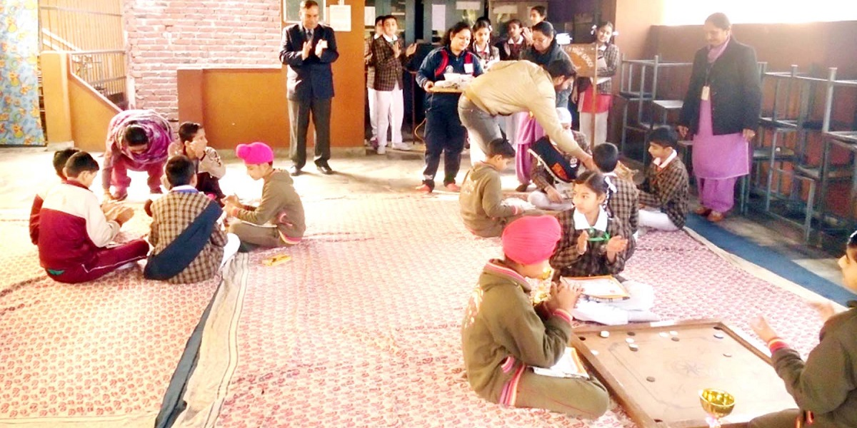 Inter School Carrom Competition