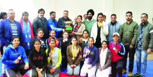 inter-college women Wrestling competition