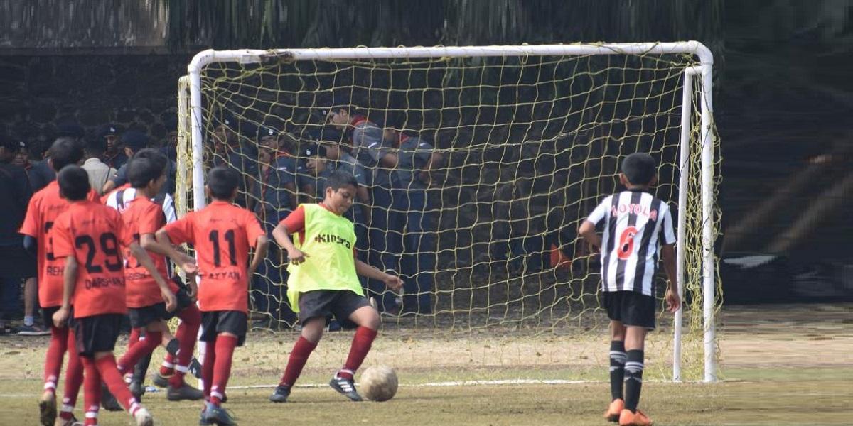 Inter-school football tournament