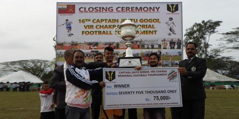 16th Captain Jintu Gogoi Memorial Trophy