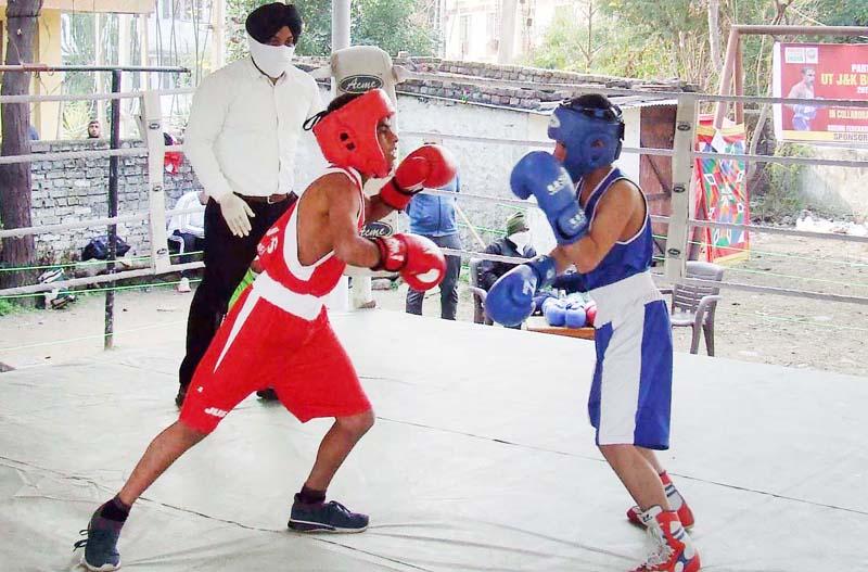 J&K UT Boxing Championship