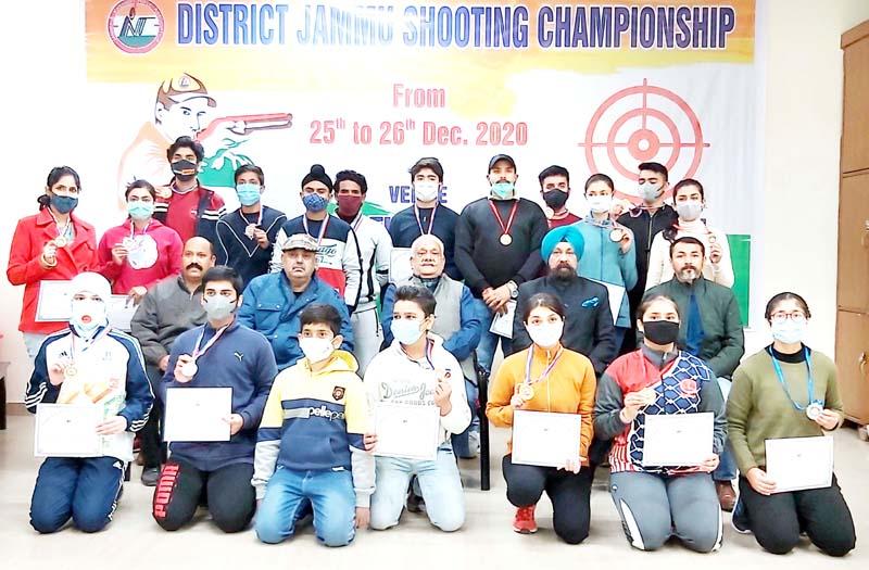 Jammu District Shooting Championship