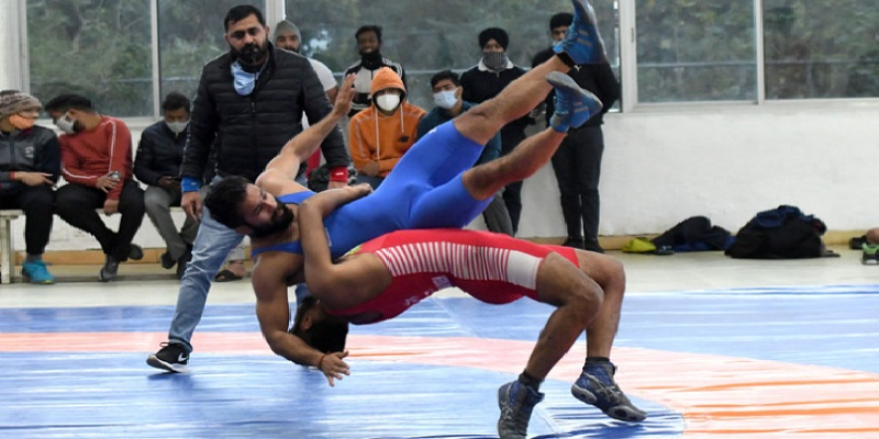Chandigarh State Senior Wrestling