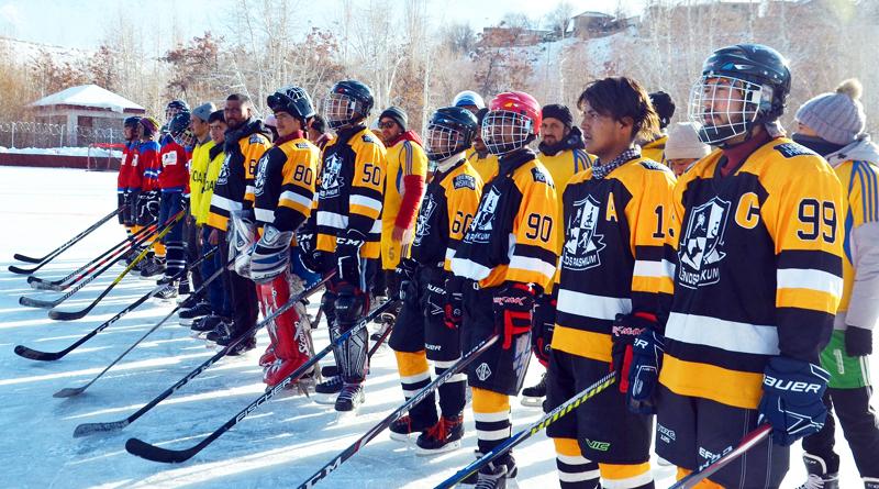 Ladakh Winter Games Ice Hockey tournament