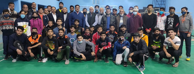 Jammu District Badminton Champion