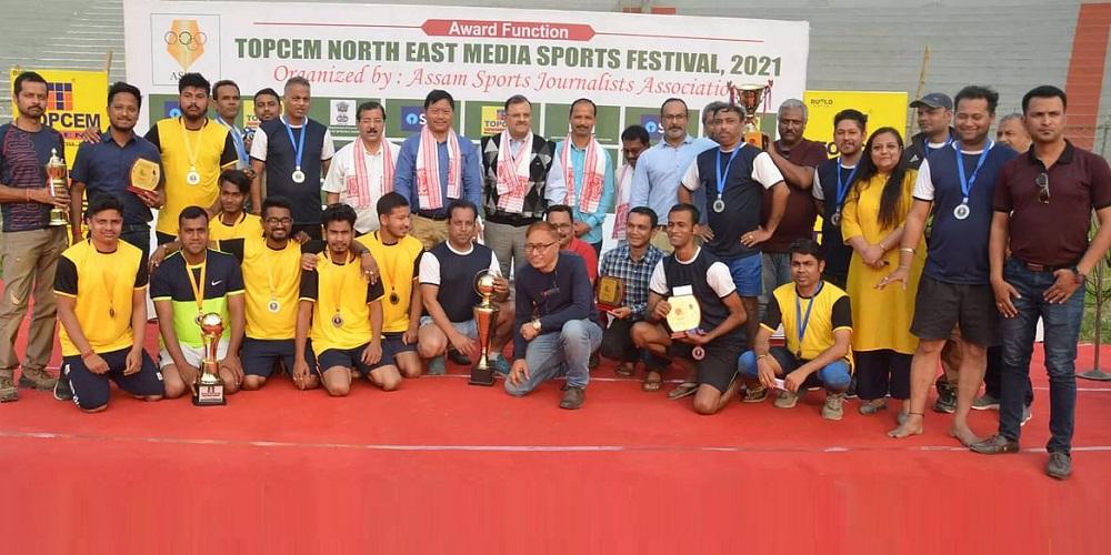 Harendra Nath Baruah Inter Media Football