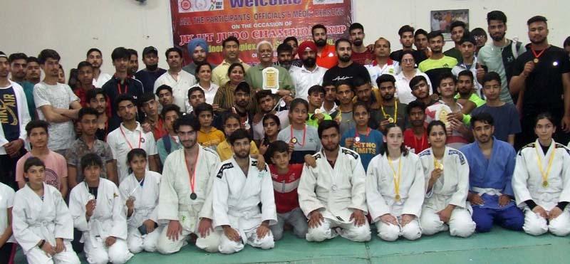 J&K UT Judo Championship