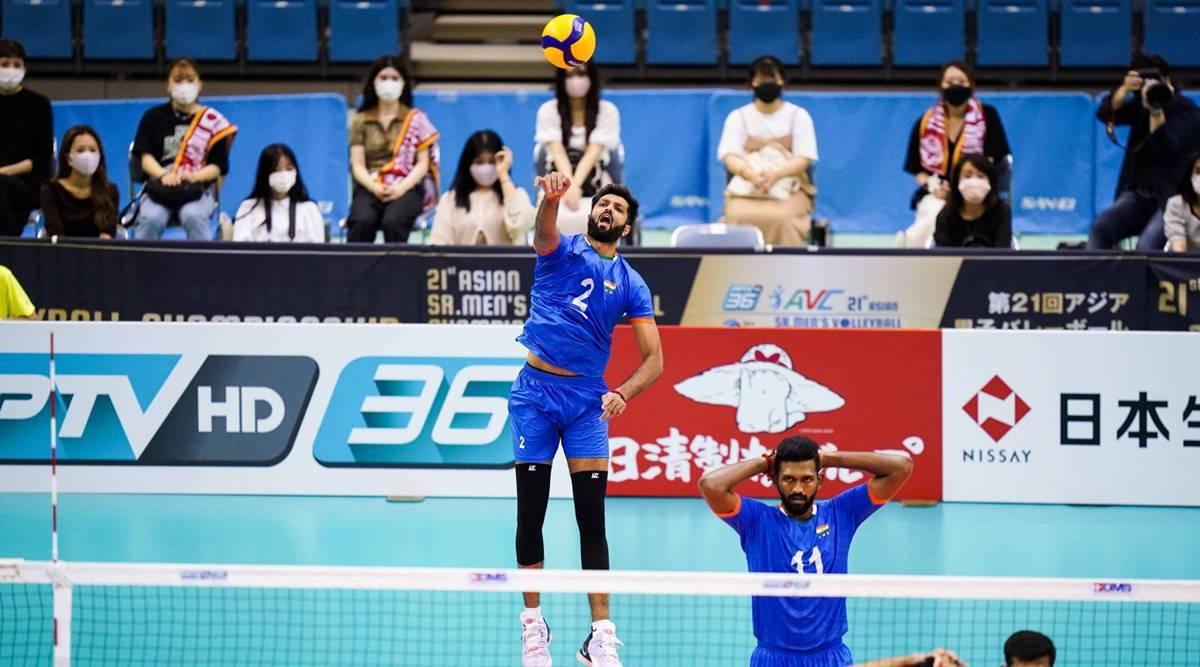 Asian men volleyball championship